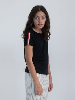 garcia t-shirt n02610 zwart