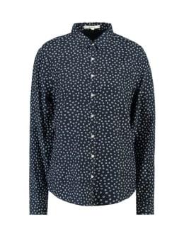 garcia blouse met allover print h90231 blauw