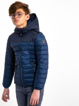 garcia puffer jas gj930801 blauw