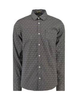 garcia overhemd met allover print h91226