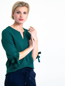 garcia blouse gs900703-2366 groen