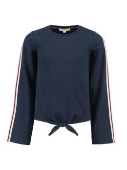 garcia t-shirt met lange mouwen i92403 donkerblauw