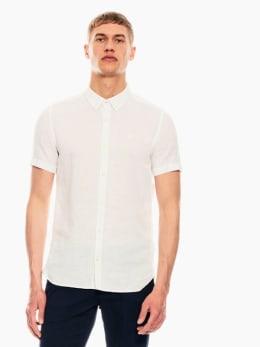 garcia linnen overhemd wit p01240