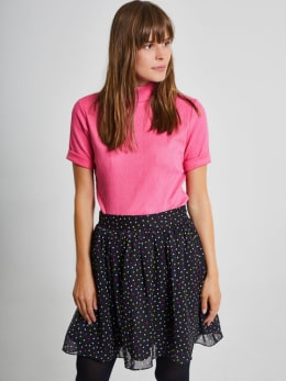 yezz t-shirt met turtleneck py900804 roze