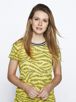 garcia t-shirt geel pg000305