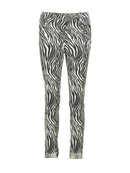 Yezz Zebraprint Broek PY900301 Zwart-Wit