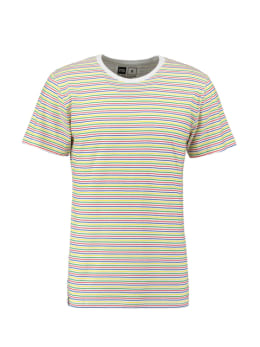 dedicated t-shirt multicolor stockholm color stripes