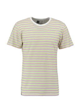 dedicated t-shirt multicolor stockholm color stripes