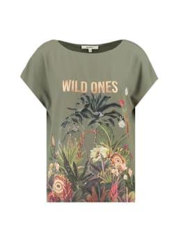 garcia t-shirt i90015 donkergroen