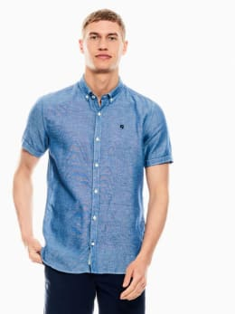 garcia overhemd blauw q01030