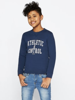 cars sweater control blauw