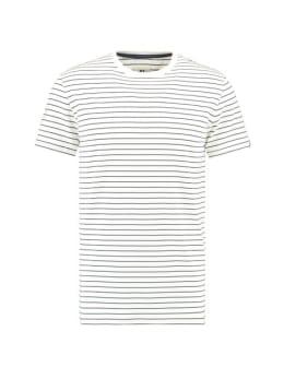 garcia t-shirt E91008 blauw gestreept