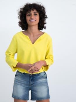 garcia blouse gs000108 geel