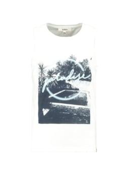 Garcia T-shirt Mouwloos D92621 Wit