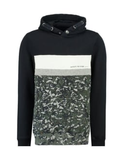 garcia hoodie J93661 blauw