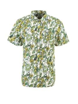 dedicated overhemd met bananenprint sandefjord groen