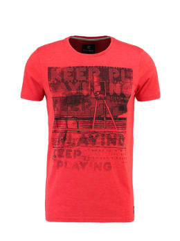 Chief T-shirt Korte Mouwen PC910502 Rood
