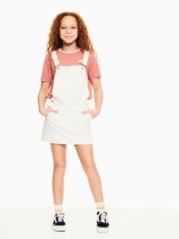 garcia spijkerjurk wit p02684