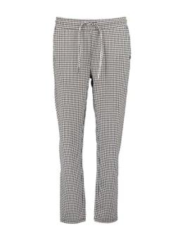 garcia pied-de-poule broek ge900905 zwart-wit