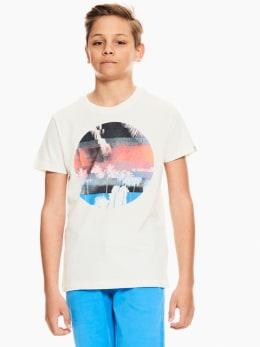 garcia t-shirt wit p03600