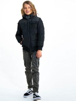 garcia puffer jas gj930802 zwart