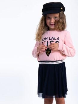 garcia trui met tekst h94662 roze