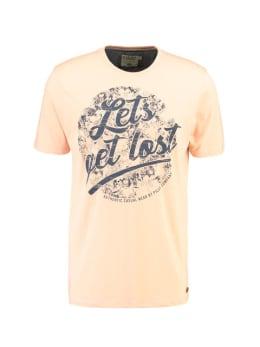 pilot t-shirt met opdruk PP910701 roze