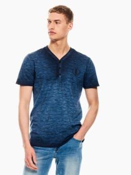 garcia t-shirt gestreept donkerblauw p01210