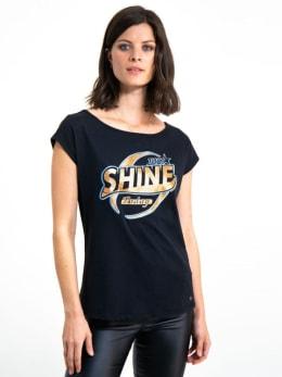 garcia t-shirt met tekst i90004 zwart