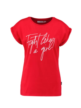 dedicated t-shirt rood visby fight