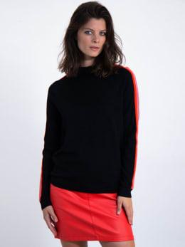 garcia trui met streep l90040 zwart