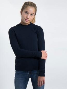 garcia long sleeve met turtleneck j92606 blauw