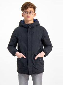 garcia omkeerbare jas gj930808 zwart-blauw