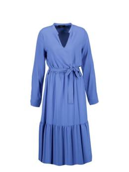 sisterspoint midi jurk blauw egum-max