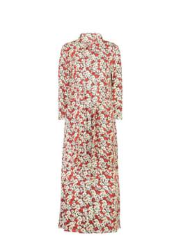 garcia jurk met print h90286 rood