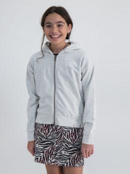 garcia vest met opdruk gs020102 wit