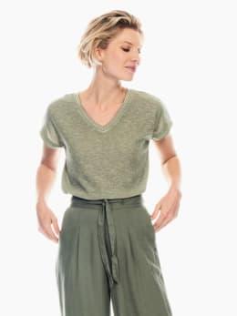 garcia t-shirt legergroen p00212