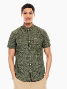 garcia overhemd groen p01236