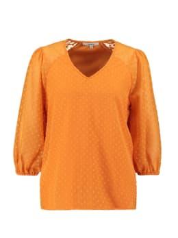 garcia blouse oranje s00035