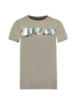 GarciaT-Shirt Met Opdruk D93601 Grijs