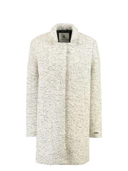 garcia mantel jas gj900914 grijs-wit