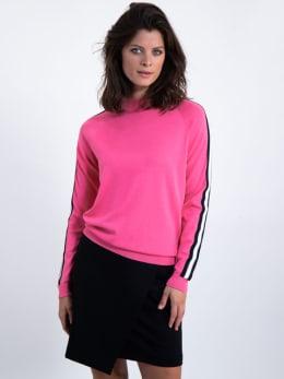 garcia trui met streep l90040 roze