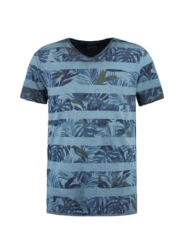 Garcia  T-shirt Korte Mouwen D91206 Blauw