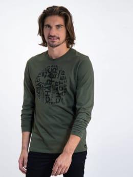 garcia long sleeve met opdruk j91211 groen