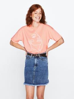yezz t-shirt roze py000307