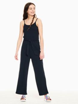 garcia jumpsuit donkerblauw p02688