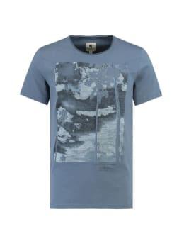 garcia t-shirt korte mouwen e91003 blauw