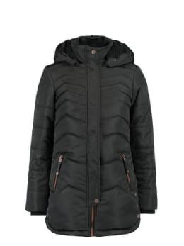 garcia lange winterjas gj920802 zwart