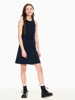 garcia jurk donkerblauw p02683