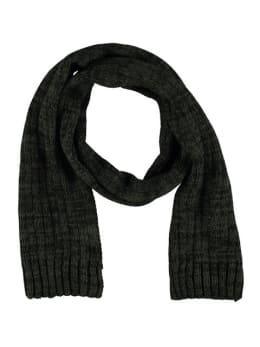 sarlini grof gebreide sjaal groen-zwart